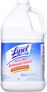 Lysol Professional Disinfectant Heavy Duty Bathroom Cleaner Concentrate, 1 Gallon