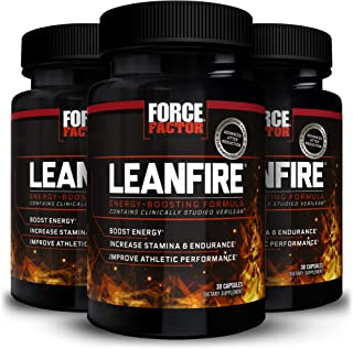 Force Factor Leanfire 30ct 3-Pack, 90 Count