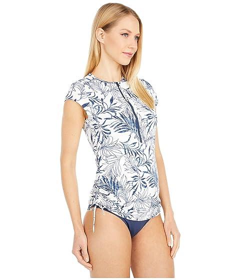 Navy Haku XL CARVE Designs Womens Hanalei Rashguard