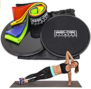 Resistance Bands and Sliders for Fitness. Exercise...