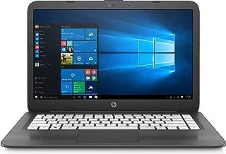HP Stream 14-ax030wm 14in Windows 10 Home N3060 4GB Memory 32GB Storage - Gray (Renewed)