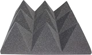 white pyramid foam