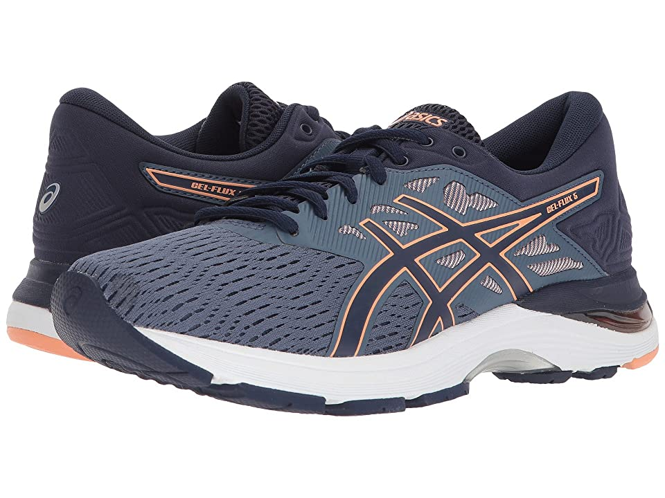 ASICS GEL-Flux 5 (Blue/Canteloupe/Peacoat) Women