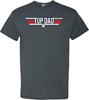 Top Dad Father's Day Adult T-Shirt Tee