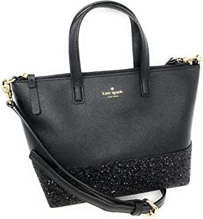 fd82b3656792a8 Kate Spade New York Ina Greta Court Glitter Crossbody Bag Top Handle Handbag