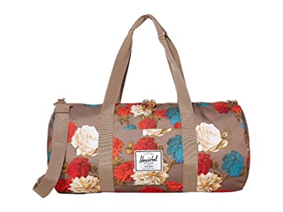 Herschel Supply Co. Sutton Mid-Volume (Vintage Floral Pine Bark) Duffel Bags