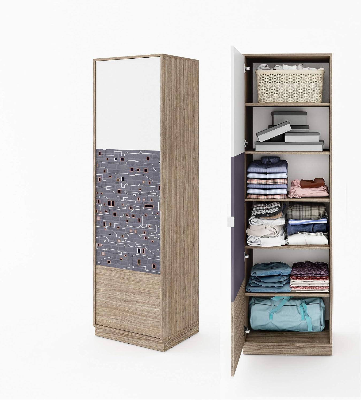 Furniture24-eu Schrank mit regalen Hochschrank TECTO TE03