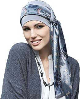 Yanna Chemo Headwear para mujeres con pérdida de cabello Gorra de bambú para cáncer, sombreros de cabeza turbante