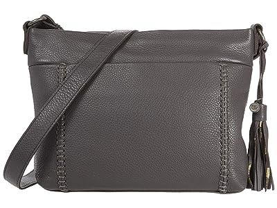 The Sak Melrose Crossbody (Slate Leaf Embossed) Handbags