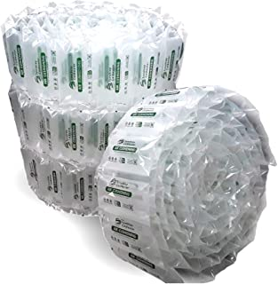 340 Count Industrial Air Pillows 6.5 Cu Ft 39 Gal Green Eco Friendly 8x4 inch Void Fill Cushioning for Shipping and Packaging by SunshineColdwater