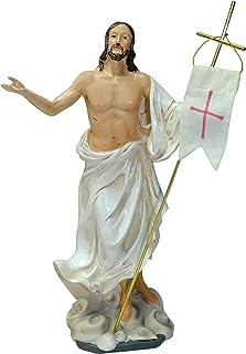 comprar comparacion Kaltner Präsente–Regalo Idea–Figura de Cristo Jesús con bandera Oster Resurrección Jesús auferstehungschristus
