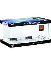 ジェックス グラステリアスリム450水槽 フレームレス水槽 奥行スリム