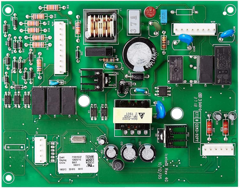 67006389 Control Max 70% OFF Board - Elegant Upgraded Genuine Par Whirlpool