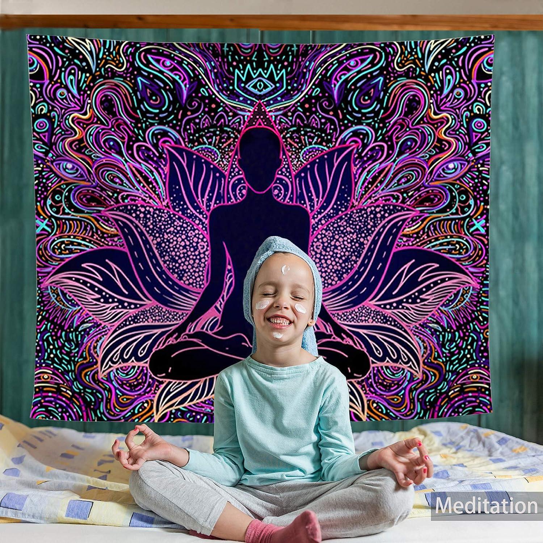 FairDew Yoga Meditation Tapestry trend rank Wall Living Bedroom Hanging for Many popular brands