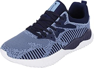 Fsports Latest Collection Navy Blue Colour Carlos Series Lycra Mesh Casual Shoes for Men