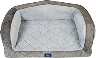 Serta Perfect Sleeper Camel-Back Couch Pet Bed
