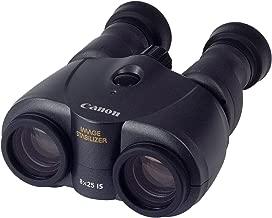 Canon 8x25 IS - Prismático (estabilizador de Imagen, Zoom