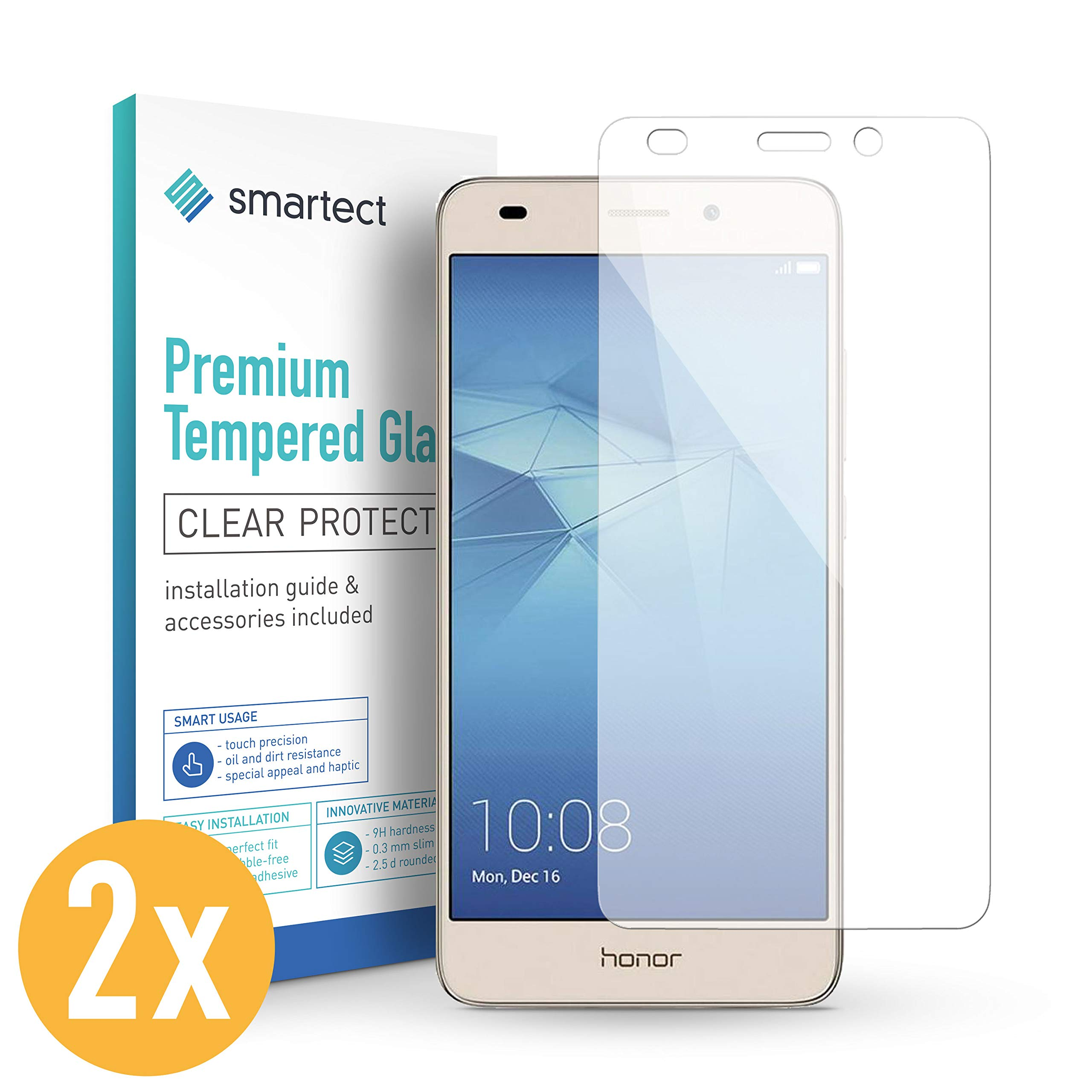 smartect Cristal Templado para Móvil Huawei Honor 5C / Honor 7 ...