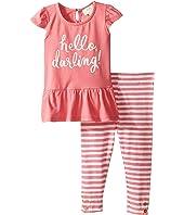 Kate Spade New York Kids - Hello Darling Leggings Set (Infant)