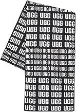 UGG Womens UGG Logo Knit Scarf