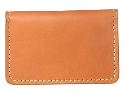 Filson Card Case (Tan Leather) Credit card Wallet