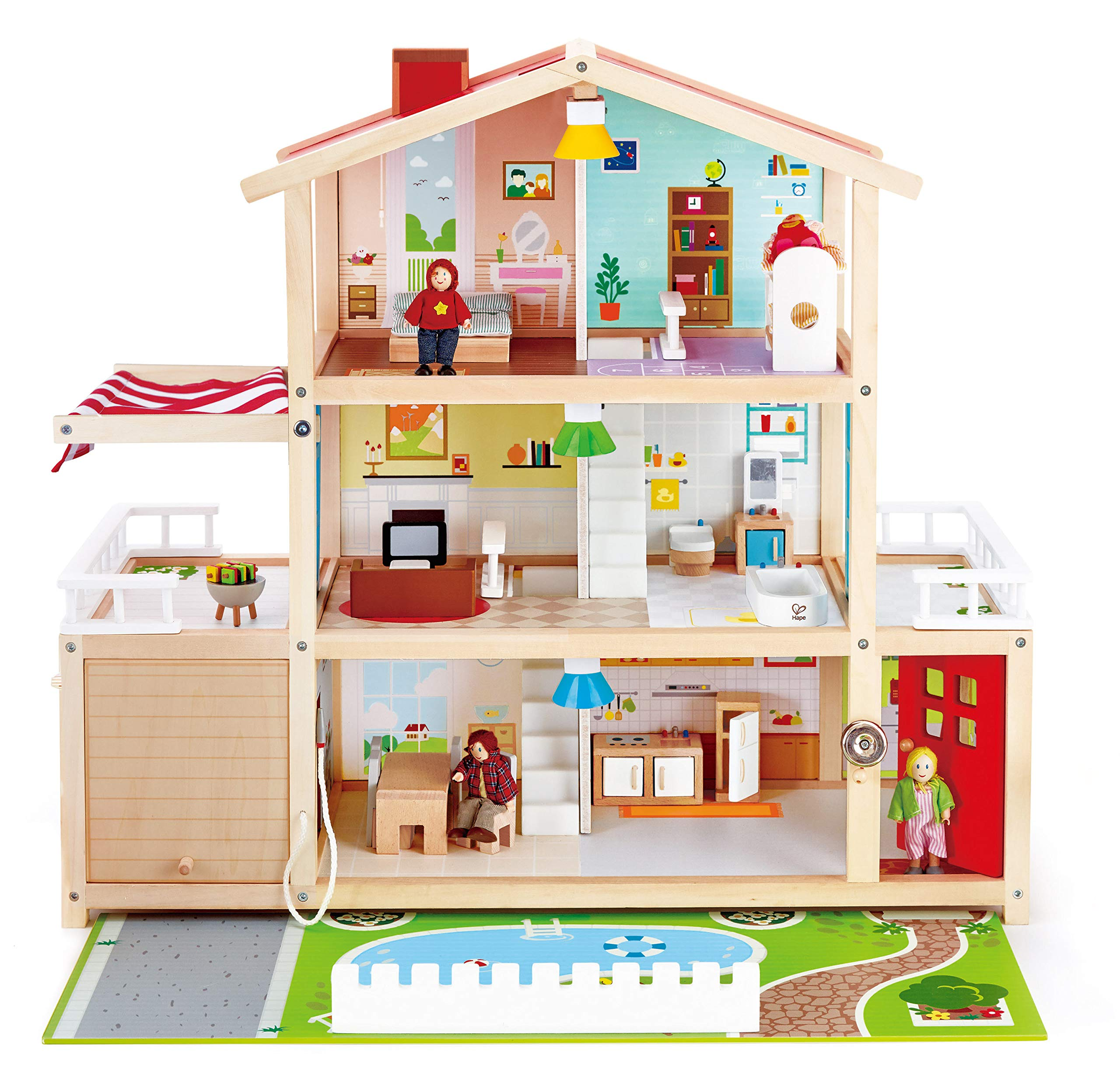 Hape Wooden Family Mansion Accessories