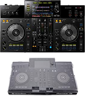 Pioneer DJ XDJ-RR + Decksaver DS-PC-XDJRR Cover Bundle