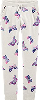 OshKosh B'Gosh Girls' Logo Fleece Pants