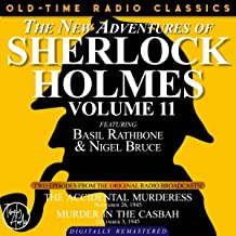 The New Adventures of Sherlock Holmes, Volume 11: Episode 1: The Accidental Murderess and Episode 2: Murder in the Casbah