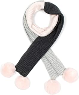 Review Women's All Rugged Up Scarf Grey/Blush