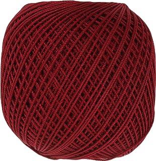 オリムパス製絲 金票 レース糸 #40 Col.194 レッド 系 10g 約89m 3玉セット