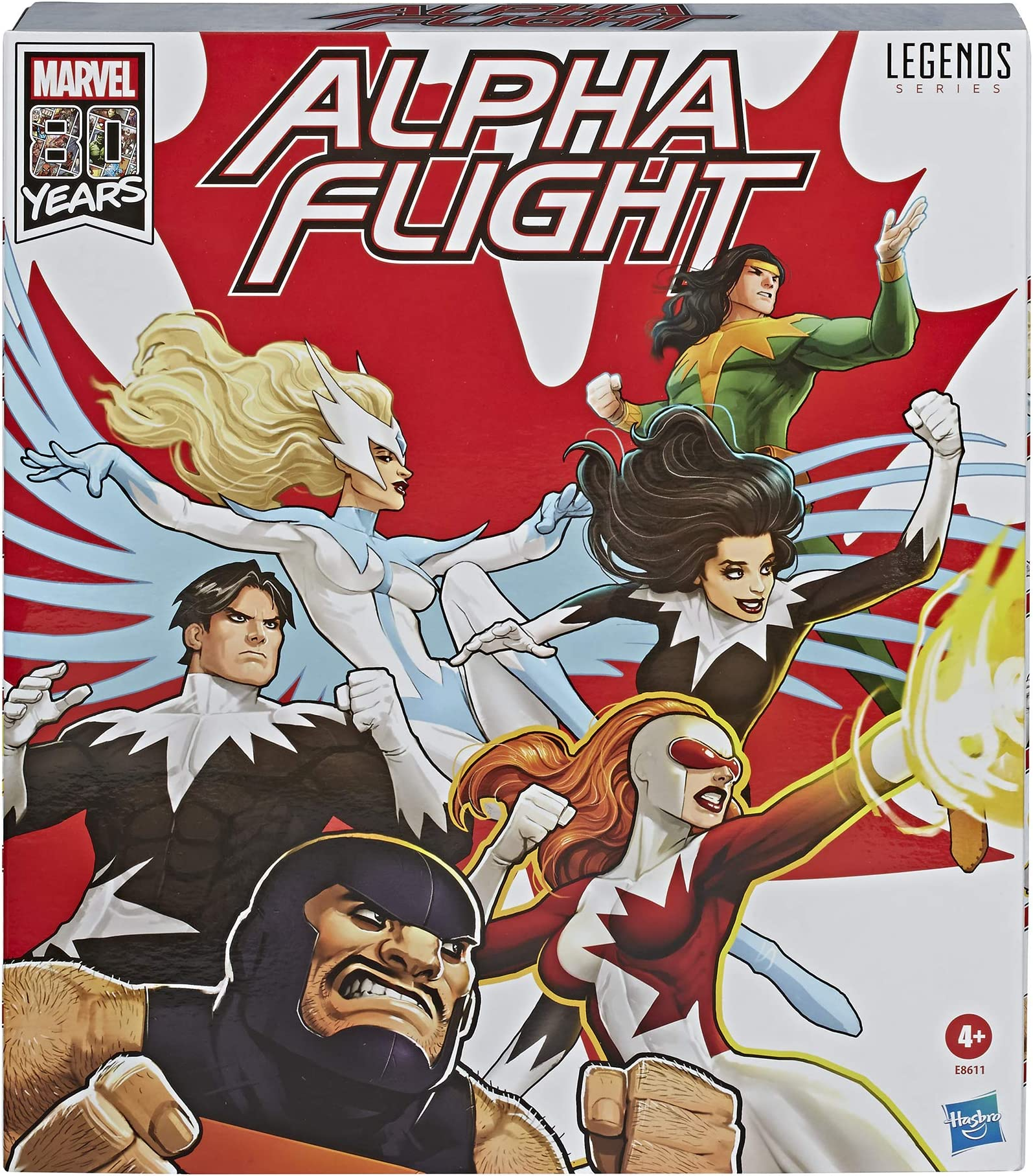 Alpha Flight Team-Marvel légendes Lot de 6-X-Men Dark Phoenix Vs Avengers