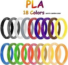 PLA Filamento AIO Robotics Premium para bol/ígrafos de impresora 3D precisi/ón de +//- 0,02 mm di/ámetro de 1,75 mm 3 metros por color 16 colores