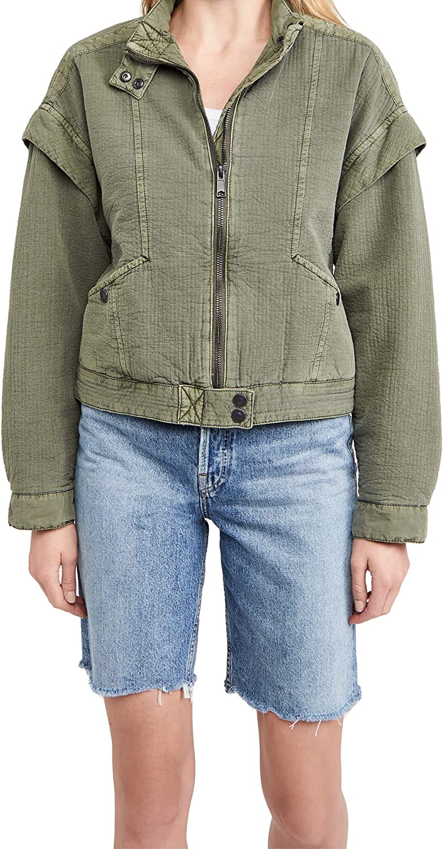 Free People Women's Florence Bomber Jacket