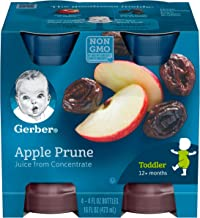 gerber apple prune juice for constipation