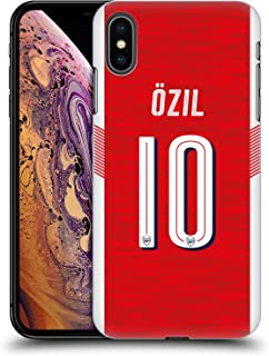 Official Arsenal FC Mesut Özil 2018/19 Players Home Kit Group 1 Hard Back Case Compatible for iPhone Xs Max