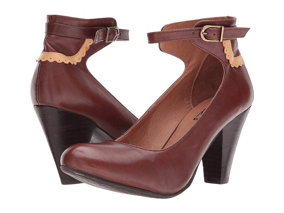 Miz Mooz Cabriole (Brown) High Heels