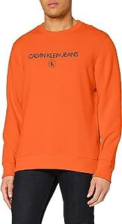 Calvin Klein Jeans Men's Archive Logo Crew Neck Sweater