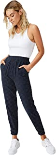 Cotton On Women's Casual Pants, Rosie Spot Total Eclipse