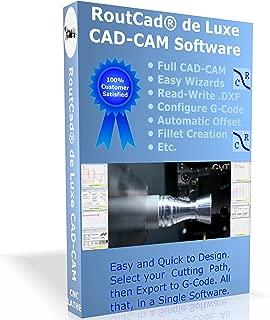 RoutCad de Luxe CAD-CAM Software CNC Lathe