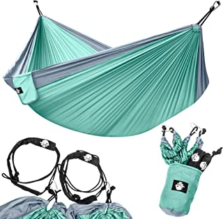 Legit Camping – Double Hammock – Lightweight Parachute Portable Hammocks for..