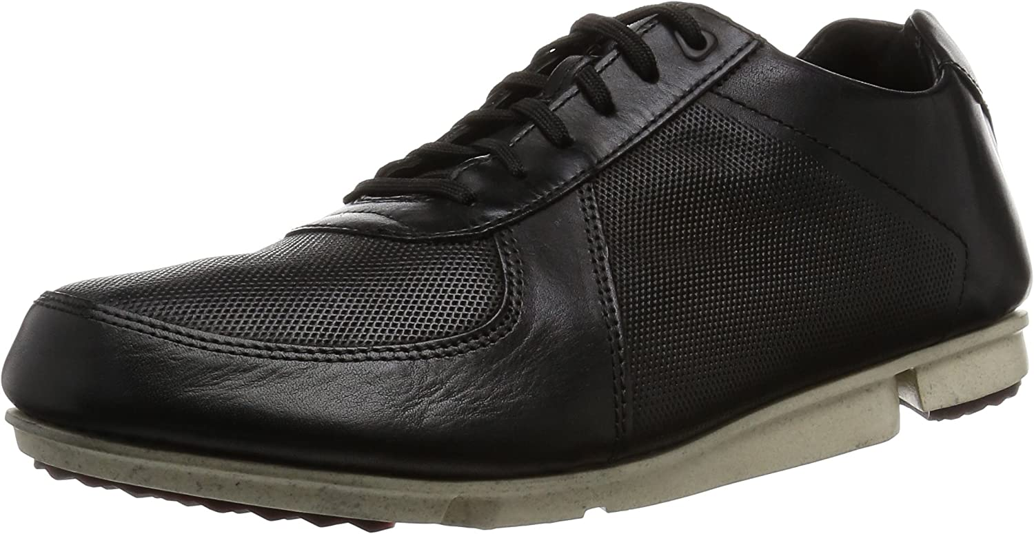 Clarks Men's Triturn Race Trainers black black