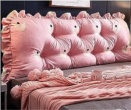 Bedside Cushion Triangle Double Sofa Large Back Cushion Soft Pack Tatami Bed Long Pillow Pillow Lumbar Support Waist yanga...