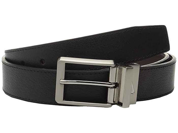 Nike Core Reversible Belt (Black/Brown) Men