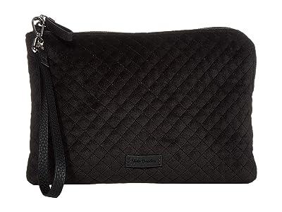 Vera Bradley Iconic Pouch Wristlet (Black) Wristlet Handbags
