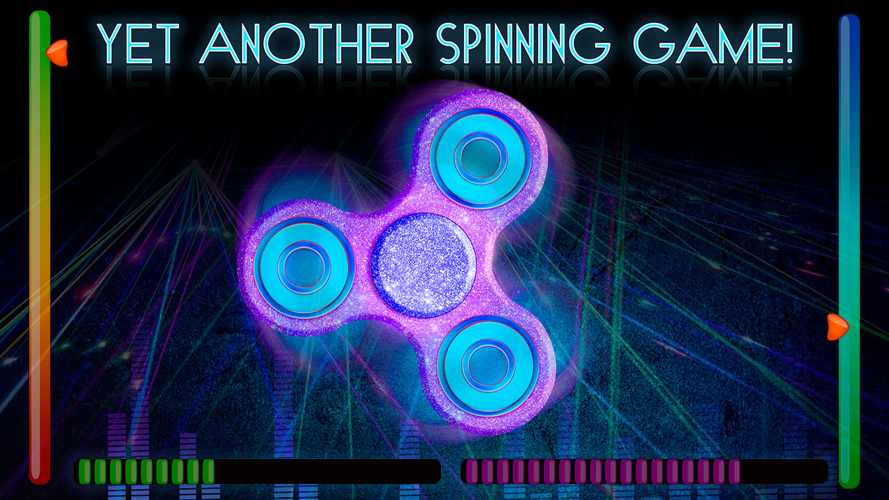 Fidget Spinner with Music: Relaxation Trends | Listen to Music and Swipe