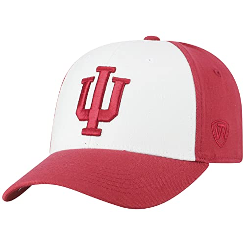 6413a4443f0 Top of the World NCAA-Premium Collection Retro 2-Tone Fitted Hat Cap