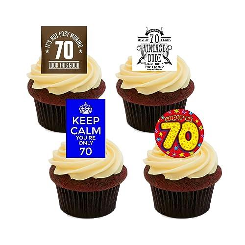 70th Birthday Cake Toppers Amazon Co Uk
