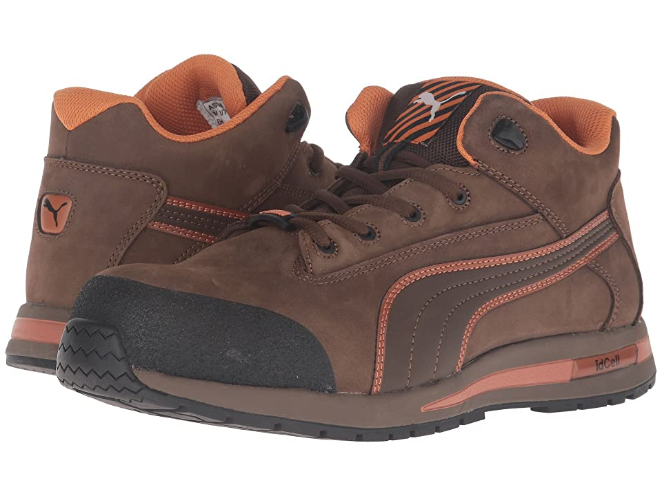 PUMA Safety Dash Mid EH (Brown) Men