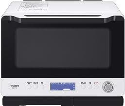 日立 スチームオーブンレンジ 30L ダブル高速ヒーター300℃熱風2段オーブン 過熱水蒸気 Wスキャン調理 ワイド&フラット庫内 外して丸洗いテーブルプレート ヘルシーシェフ MRO-W1X W フロストホワイト
